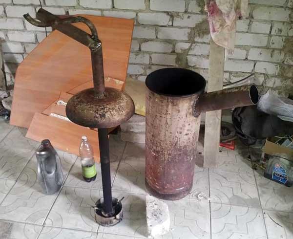 Элементы масляного обогревателя