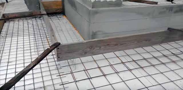 Деревянная опалубка для бетонирования