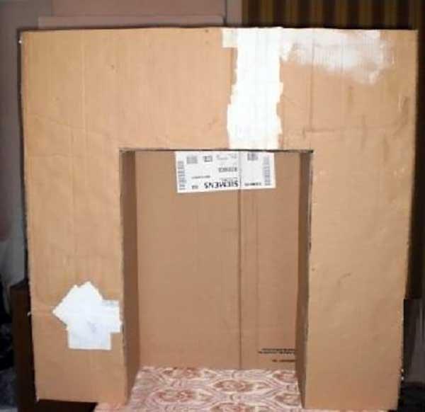 Заготовка каминного портала