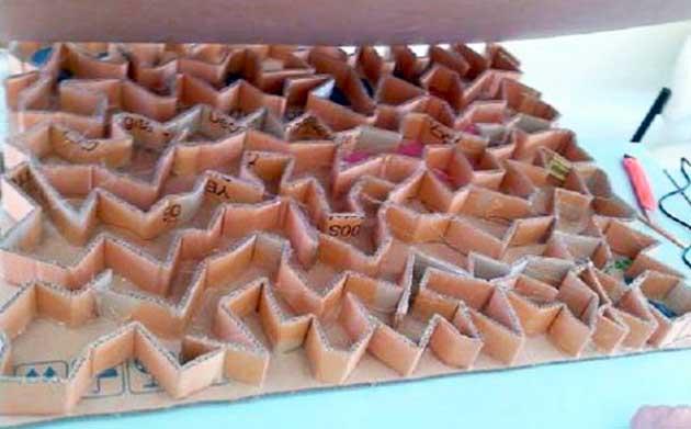 Ребра жесткости из картона