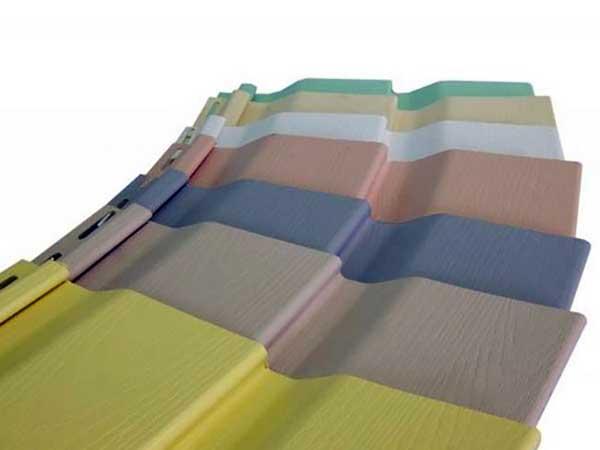 Разноцветные ПВХ панели