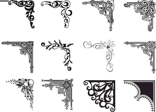 Декоративные орнаменты для облицовки