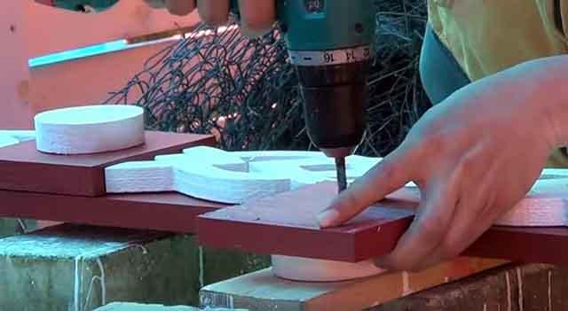 Скручивание деревянных деталей