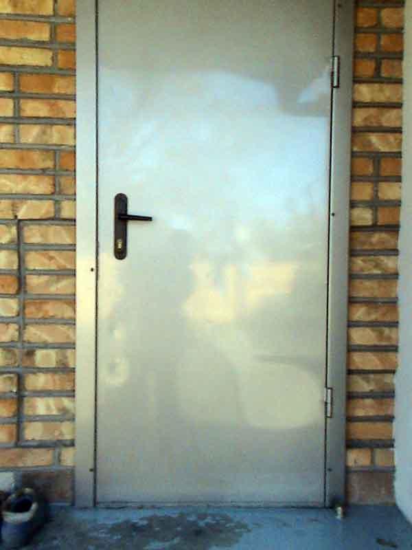 Вход в частный дом