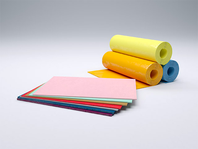 Разноцветный изолирующий полиуретан