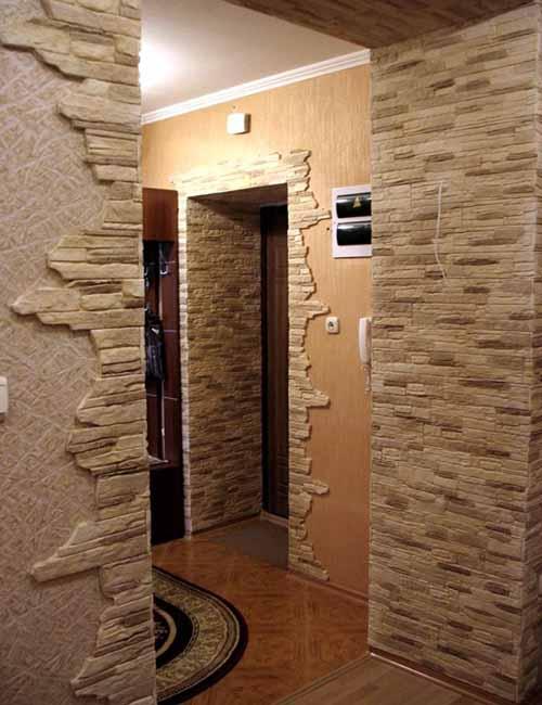 Плиточная облицовка дверных проемов