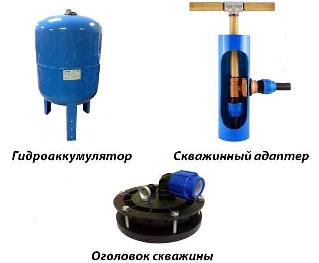 Детали для обвязки скважины