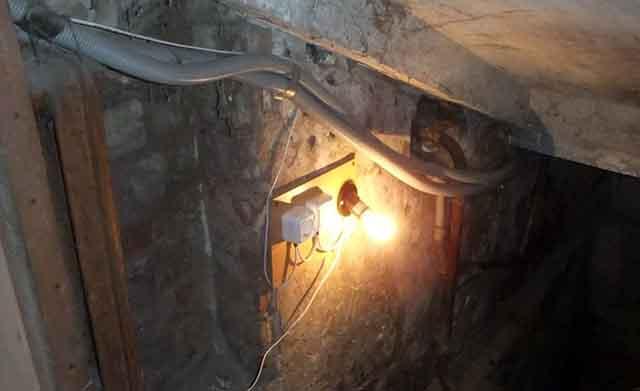 Электричество в погребе