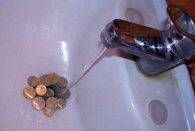 Выгода от учета расхода воды
