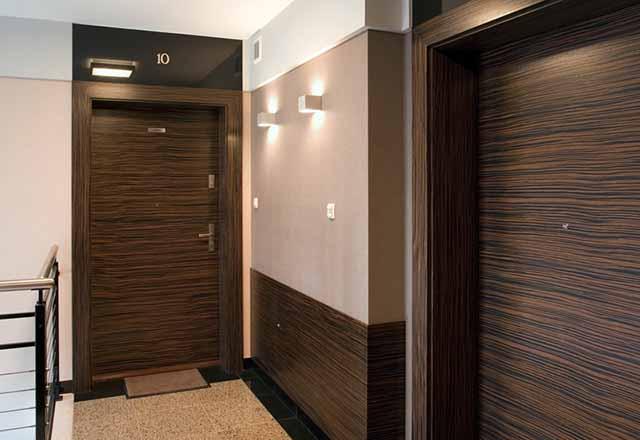 Красивый дизайн входов в квартиры