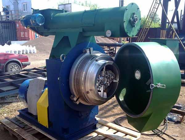 Агрегат для производства гранул