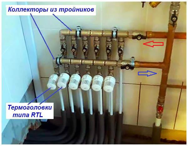 Термоклапаны RTL для регулировки количества теплоносителя