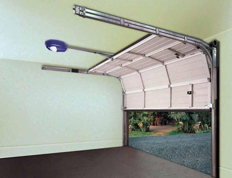 Секционная система для гаража