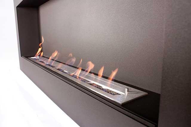 Огонь от горения биотоплива