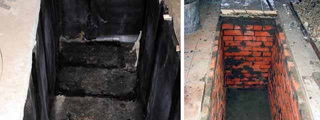 Гидроизоляция гаражной ямы