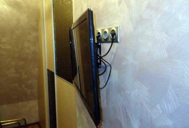 Блок розеток под телевизор