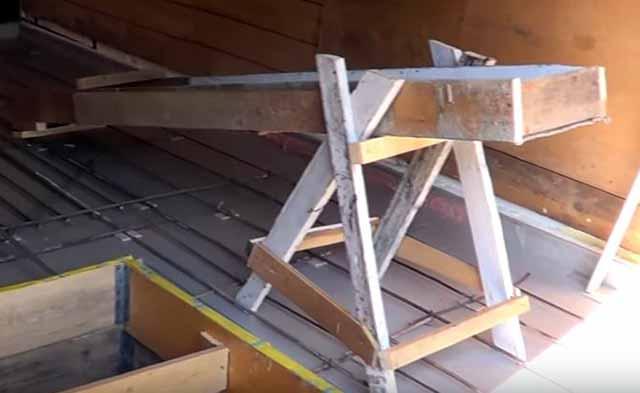 Короб для подачи бетона
