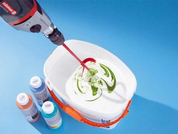 Колерование силикатной краски