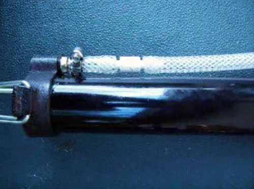 Установка обратного клапана на помпу