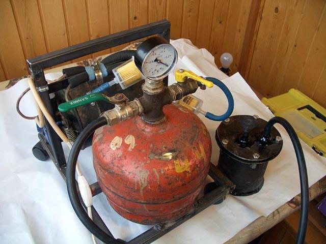 Самодельный вакуумный агрегат из холодильника