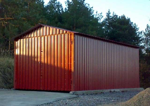 Каркасное сооружение из металла
