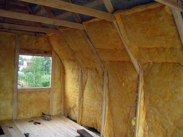 Внутренняя теплоизоляция стен минватой