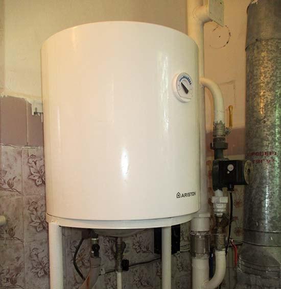 Крепление водонагревателя с подставкой