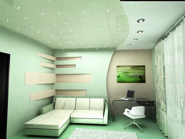 Вариант оформления комнаты