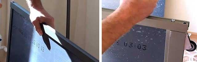 Как собирается рама из дверного профиля