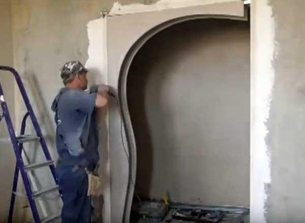 Крепление арочных заготовок