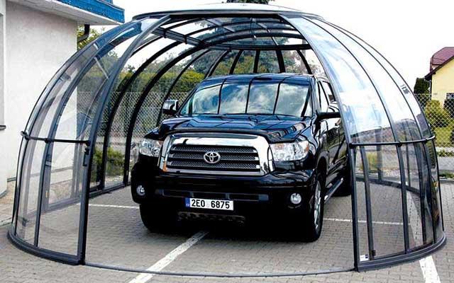 Прозрачная крыша для авто
