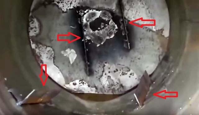 Как установить лопасти в груше бетоносмесителя