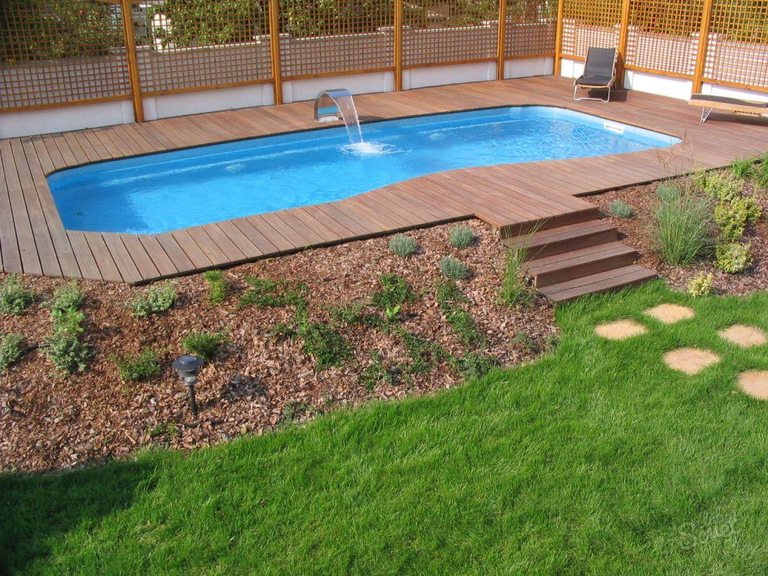 Как построить бассейн у себя во дворе
