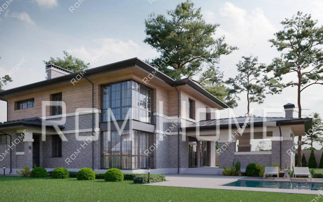 Уникальные проекты домов и коттеджей