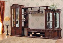 Мебельная стенка и ее виды