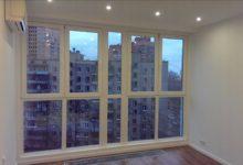 Сколько стоит остекление балкона в Киеве?