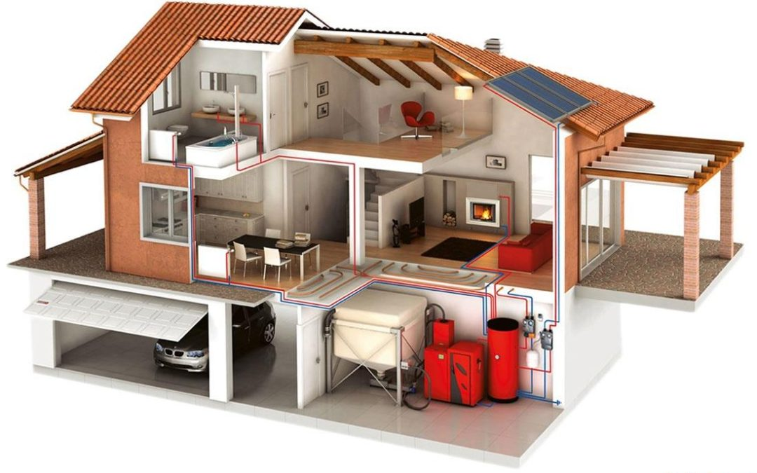 Отопление и водоснабжение загородного дома