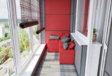 Вариации интерьера балконов