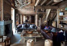Мебель для загородного дома в стиле Шале