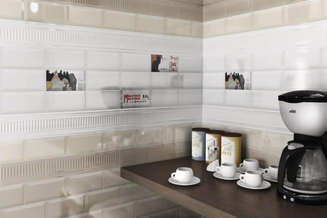 Выбор облицовочной плитки для кухни: плитка Керама Марацци Бланше
