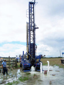 Как производится бурение скважин на воду