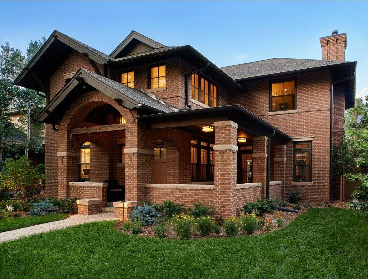 Кирпичный дом - элита строительства