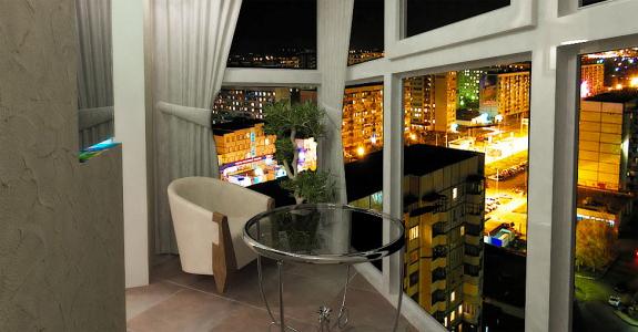 Оформляем балкон