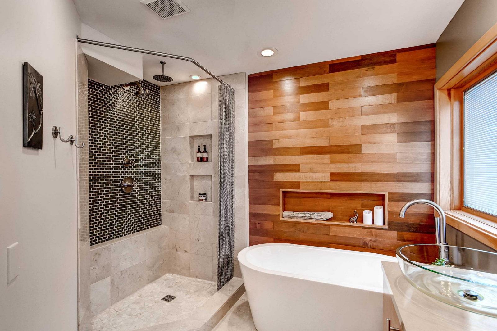 Отделка стен в кухни и ванной