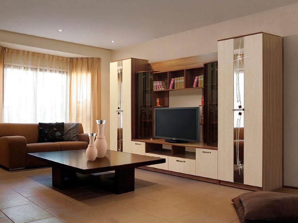 Какую мебель подобрать для гостиной небольшого размера