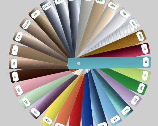 Как подобрать цвет жалюзи