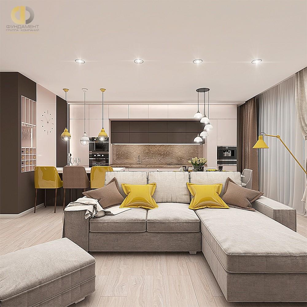 Как сделать актуальный дизайн интерьера в небольшой гостиной