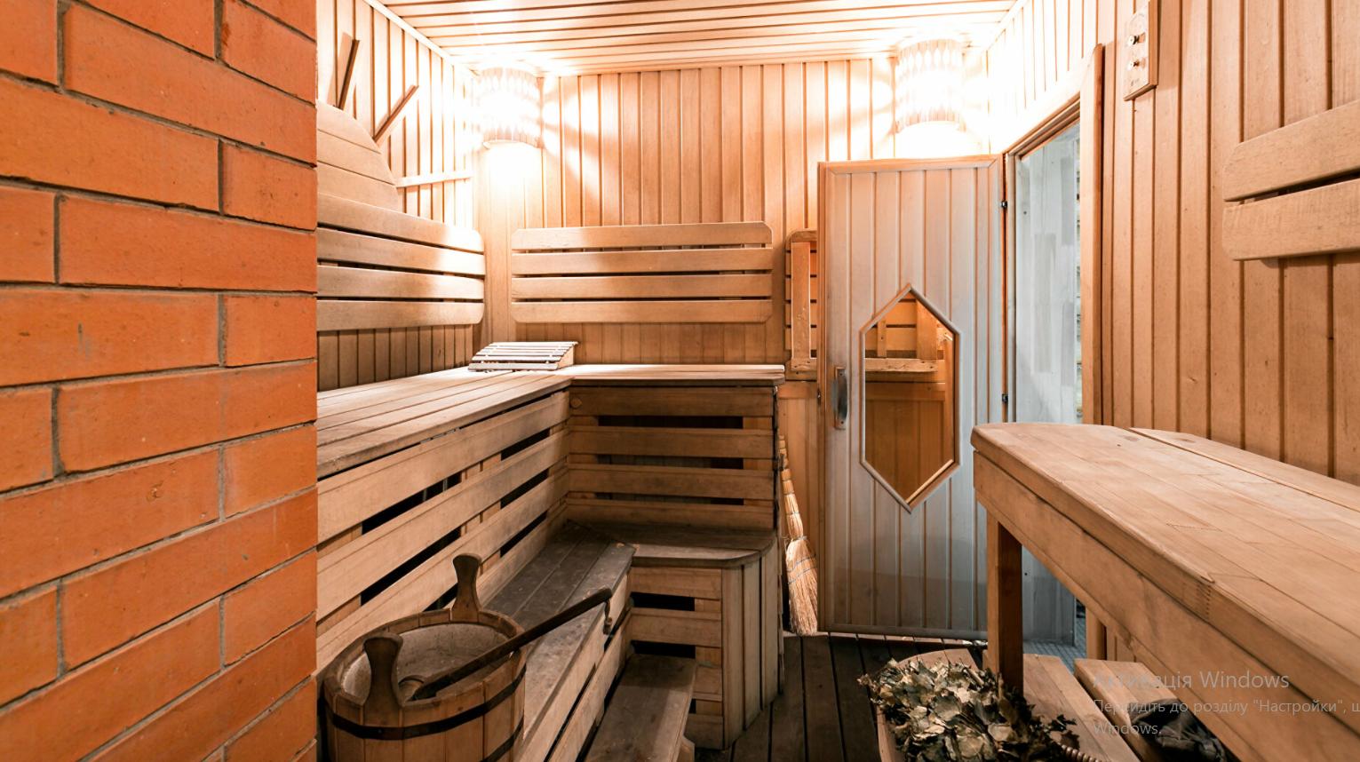 Дизайн интерьера бани с купелью