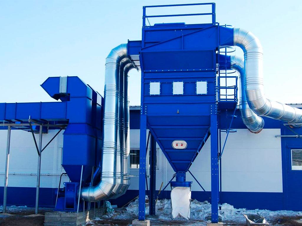 Системы аспирации для очистки воздуха на производстве