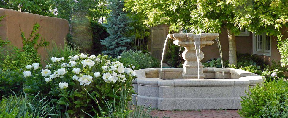 Преимущества гранитных фонтанов. Советы по выбору